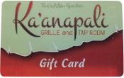 Ka'anapali Grille Gift Card